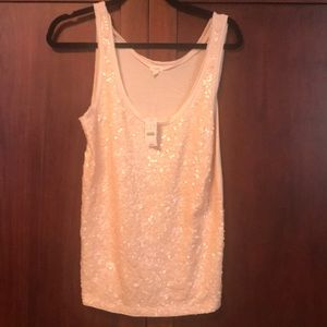 NWT! Sequin tank